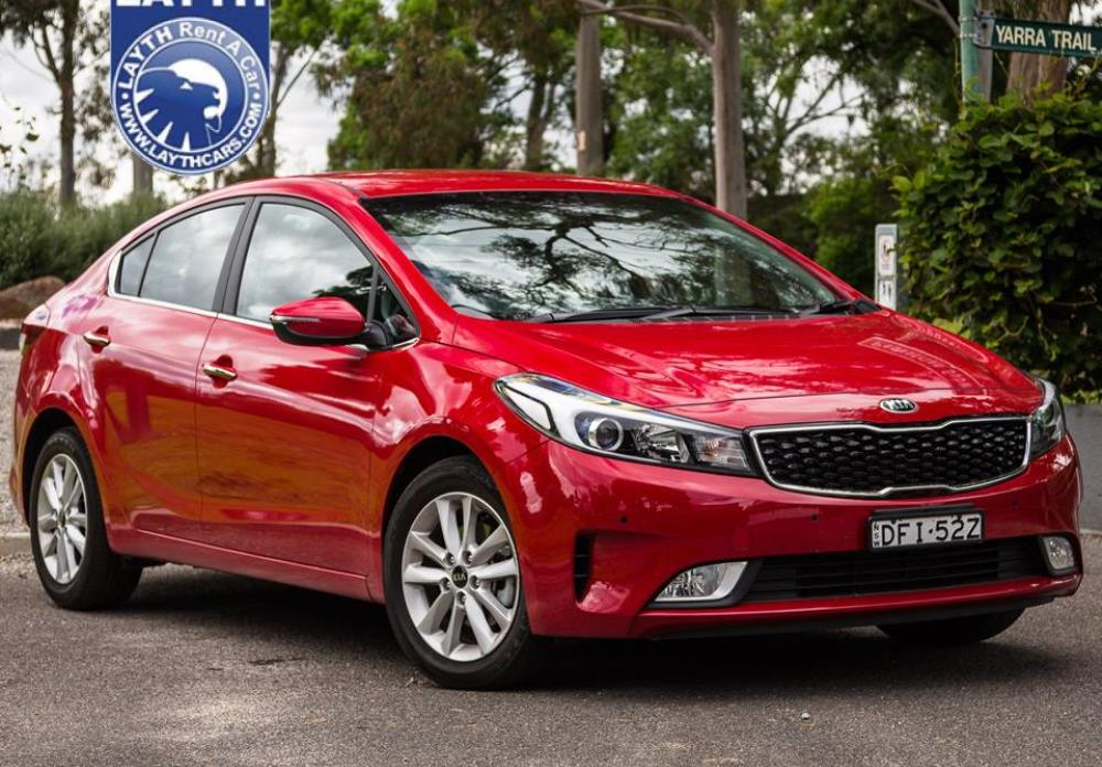 Car Rental:Rent a Kia Cerato 2016 in Amman, Jordan