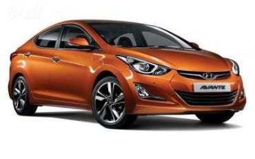 Car Rental in Jordan: Rent a elantra 2014